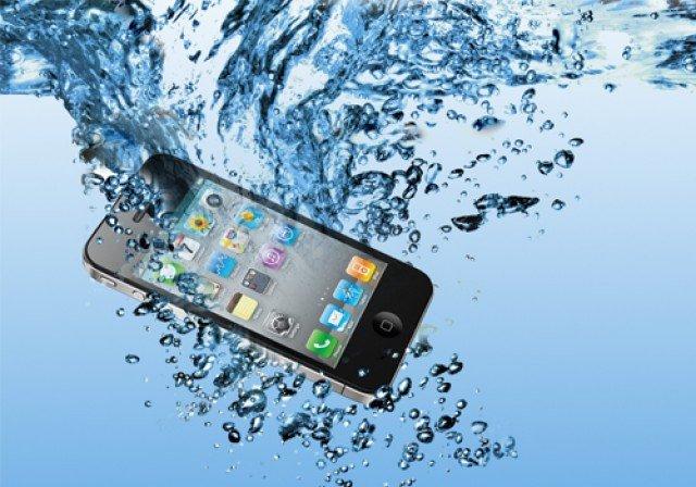 ремонт айфона упал в воду цена