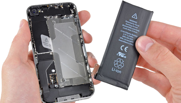 замена аккумулятора iphone спб