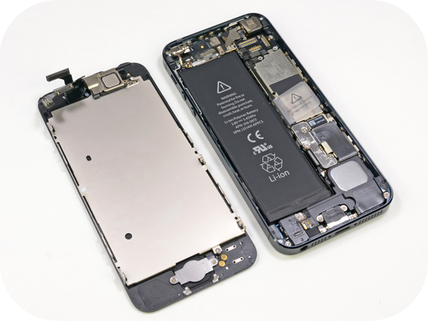 замена дисплея на iphone 5с